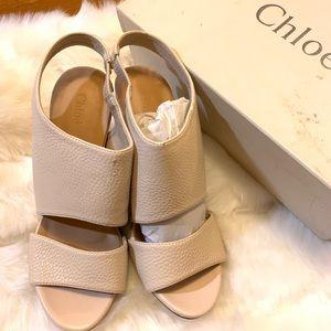 Shoes - Chloe wedge size 25